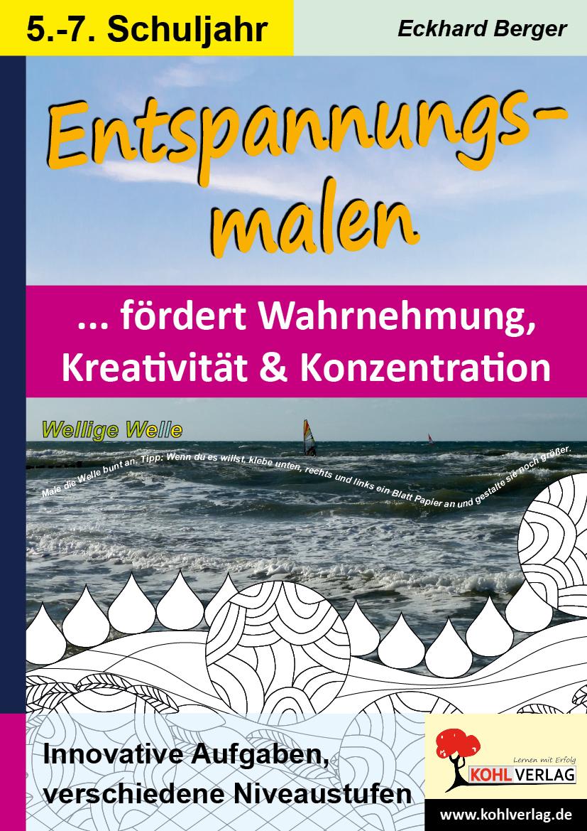 Entspannungsmalen Sekundarstufen II Kunstbuch Eckhard Berger